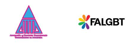 Logos de ATTTA y FALGBT